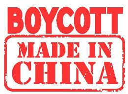 Boycott made in chiana