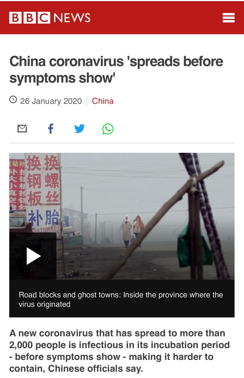 BBC-China Virus