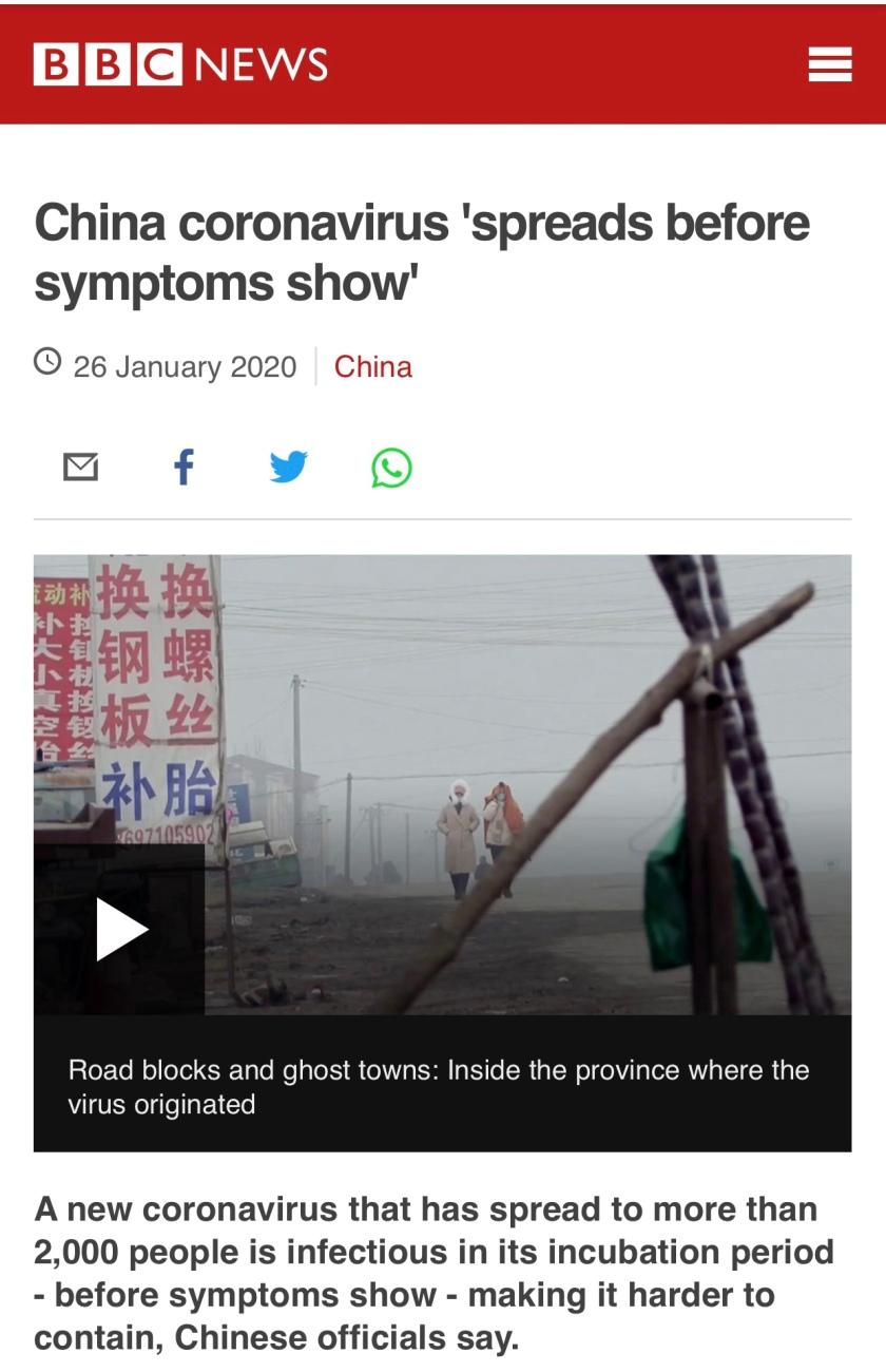 BBC-China Virus