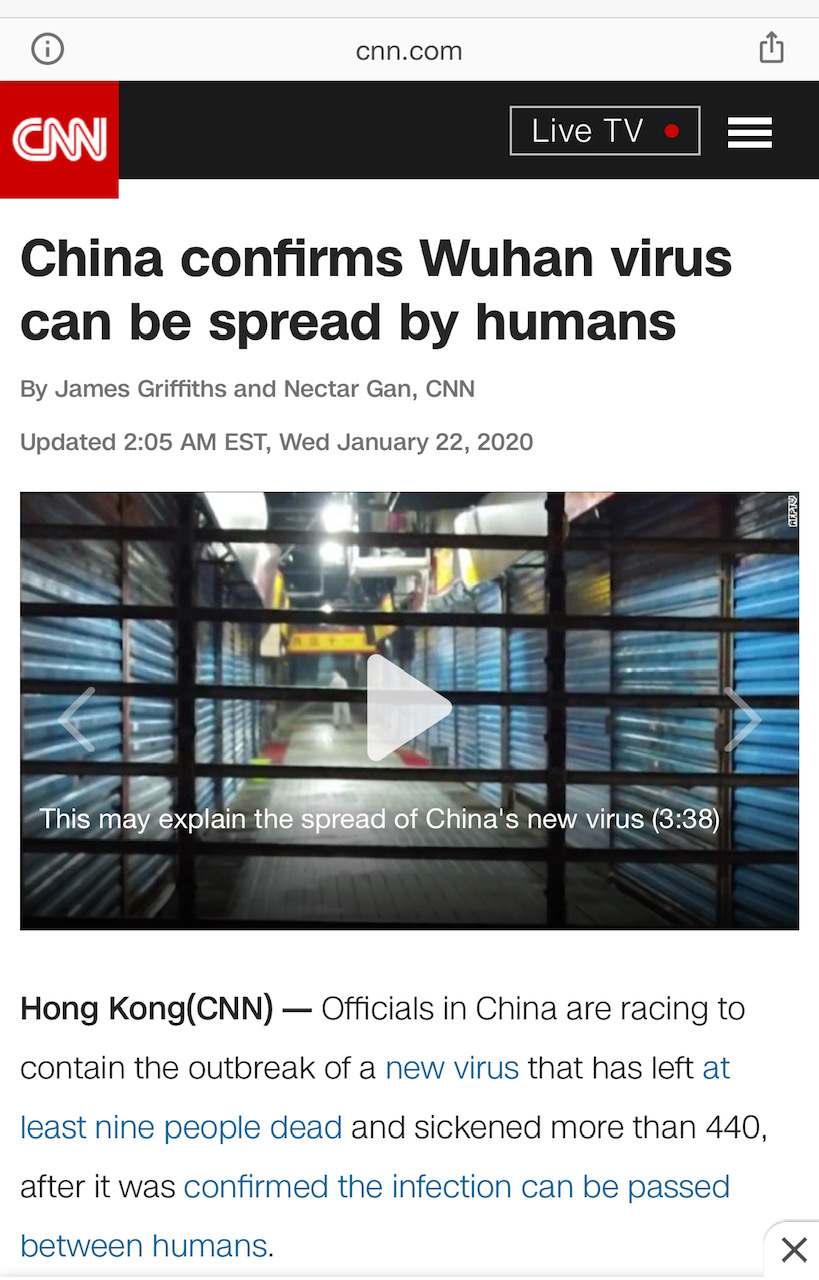 CNN- China Virus